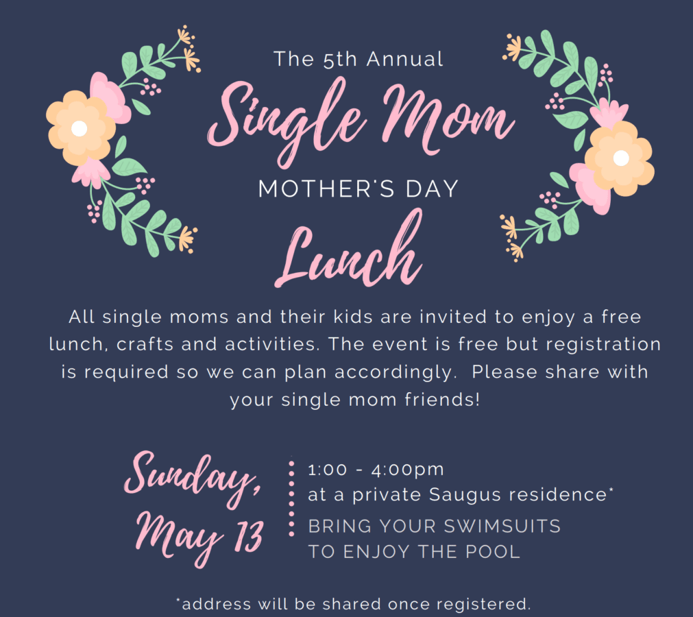 All single SCV mothers invited to brunch on Sunday Santa Clarita