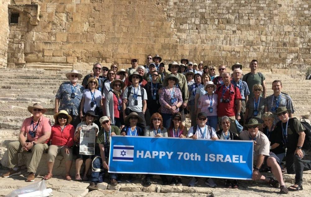 48 From Grace Baptist Church Visit Israel