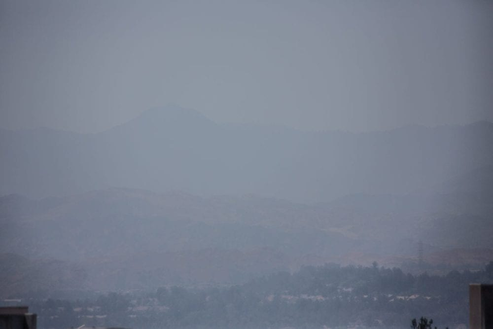 Unhealthy air quality continues during July's final days