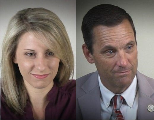 Hill, Knight discuss fundraising race for 25th District
