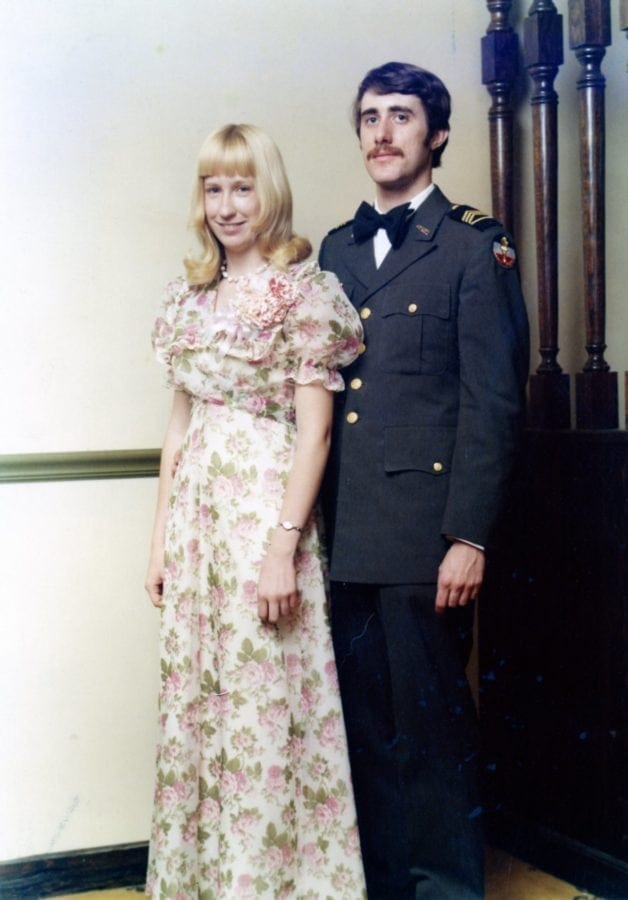 Karl J. Vogeley & Mary at ROTC Military Ball