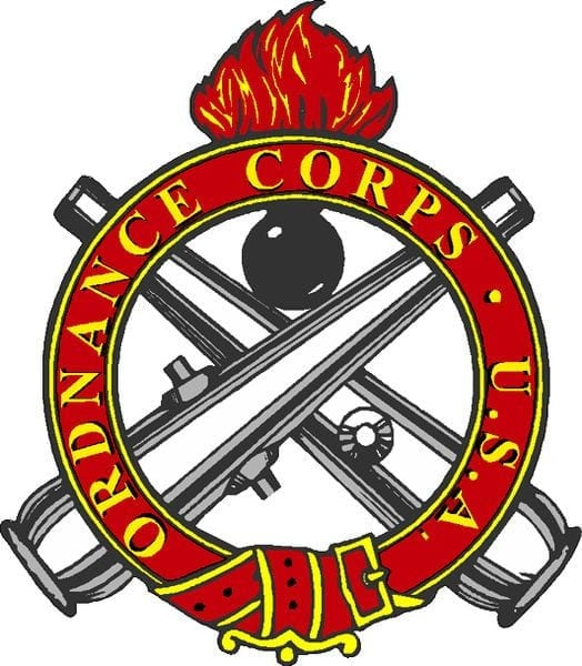 Karl J. Vogeley Ordinance Badge