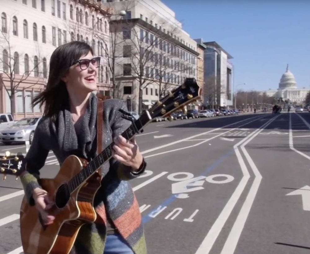 SCV Actress, Singer Sara Niemietz, performs at White House on Independence Day