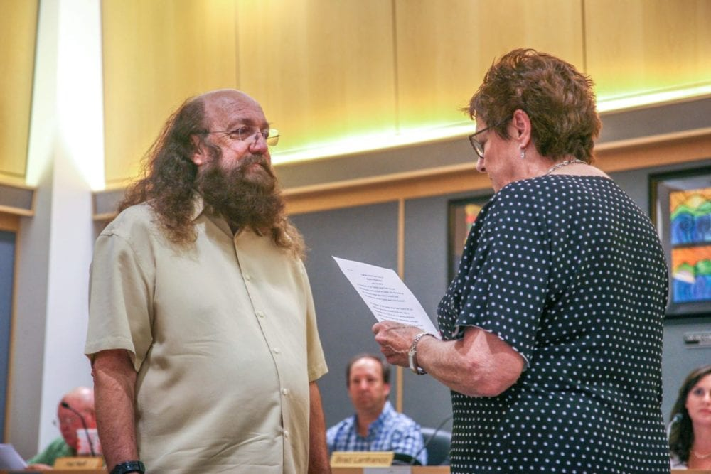 Castaic Area Town Council member returns to serve
