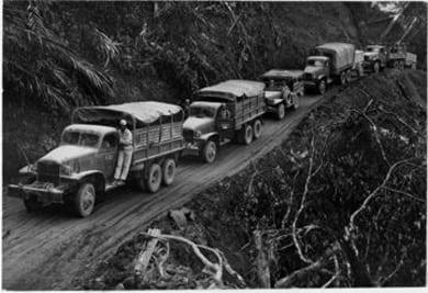 Alvin D. Larsen Burma Road Trucks