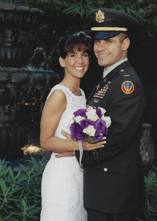 David M. Jackson & Lynette Wedding Picture (Jerome, AZ, August 13, 2000)