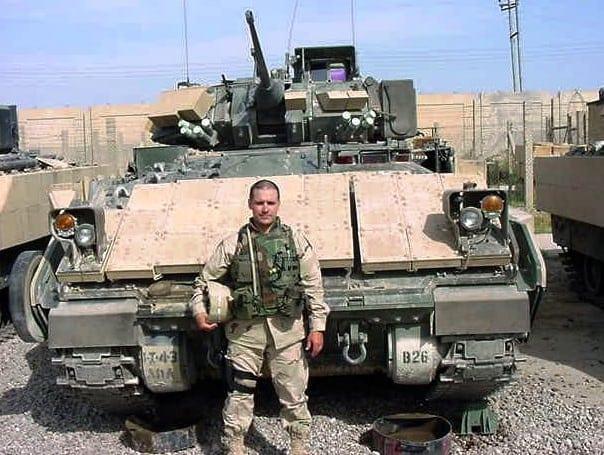 David M. Jackson & a Battalion Bradley