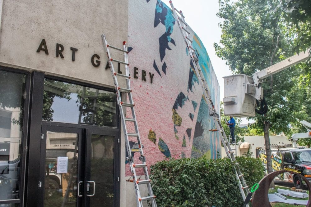 Art project contemplating state's environmental issues to transform COC Art Gallery exterior