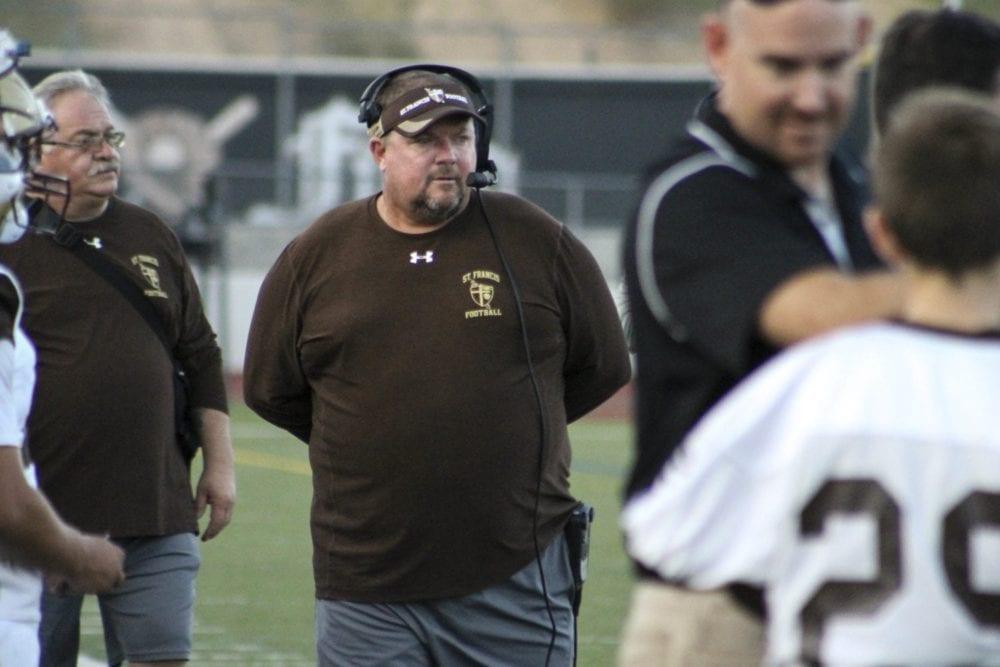 Hart alumnus, St. Francis coach Jim Bonds happy to be back on the football field