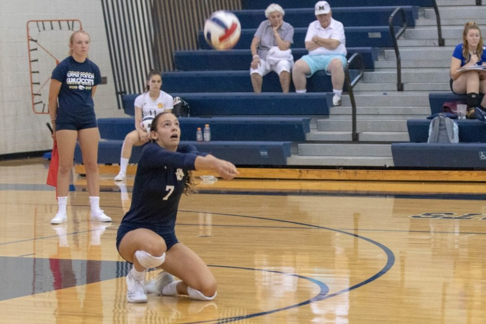 West Ranch girls volleyball struggles at home, lose in four sets