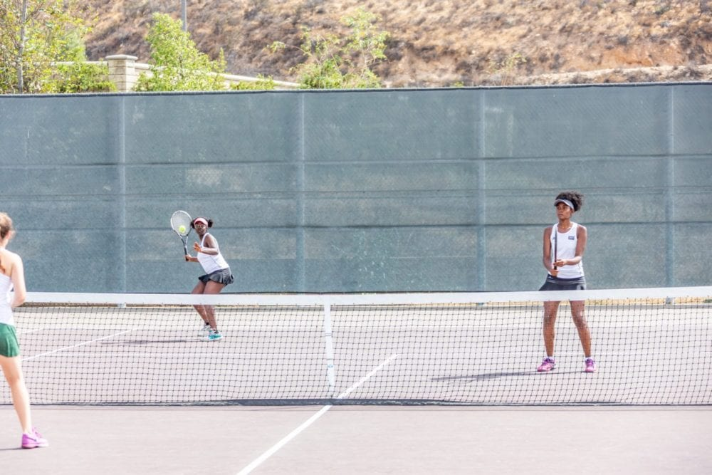 Golden Valley girls tennis nearly perfect, defeats Moorpark