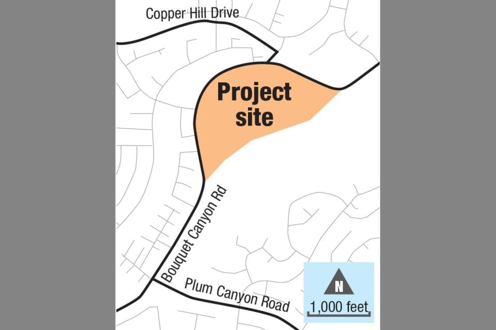 City authorizes study on 461-home Bouquet Canyon project