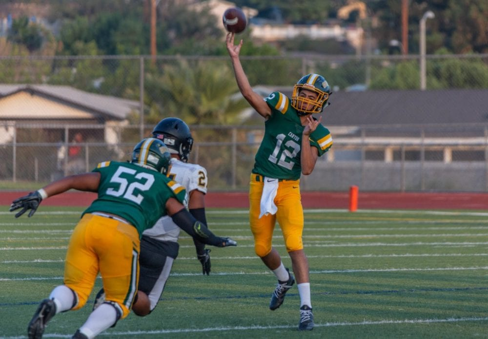 Canyon looking for consistency ahead of third game