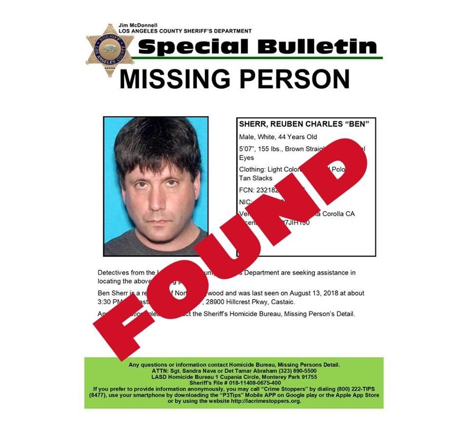 Missing eighth-grade teacher found safe