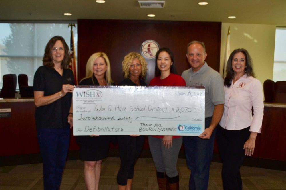 Boston Scientific Donates to WiSH