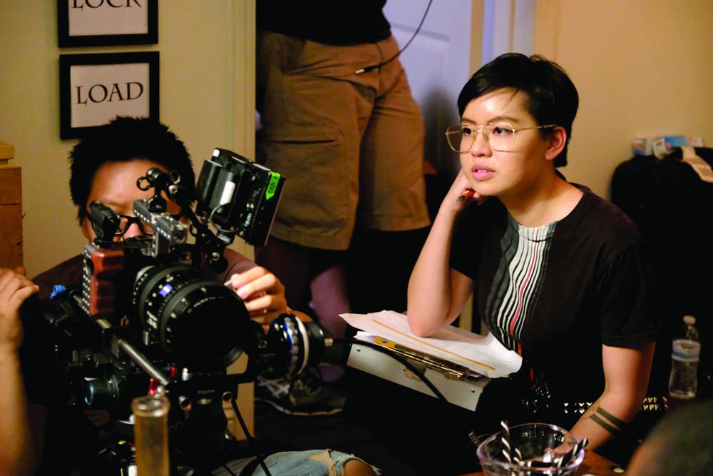 Xanthe K. Pajarillo Filming Airmen