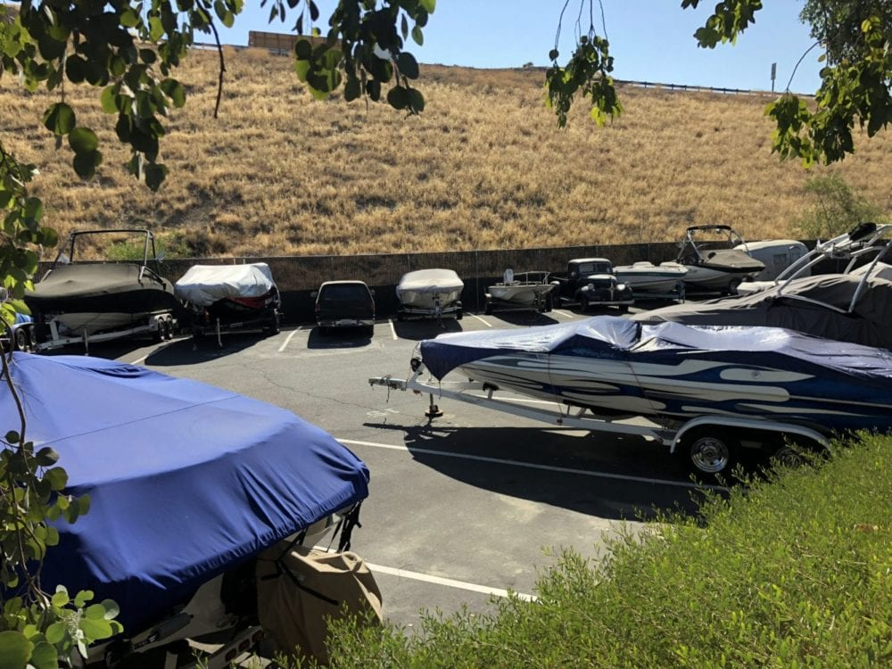 Beau All Locked Upu0027s Lot Is Located Near Insterstate 5 In Castaic.