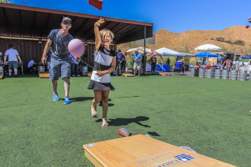 Annual cornhole tournament held at Wolf Creek Brewery