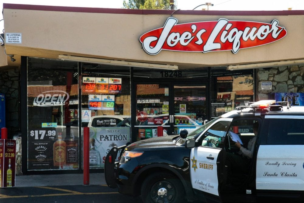 Sheriff's search for man connected to Joe's Liquor armed robbery