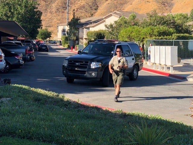 Report of shots fired at seniors building prompts evacuation