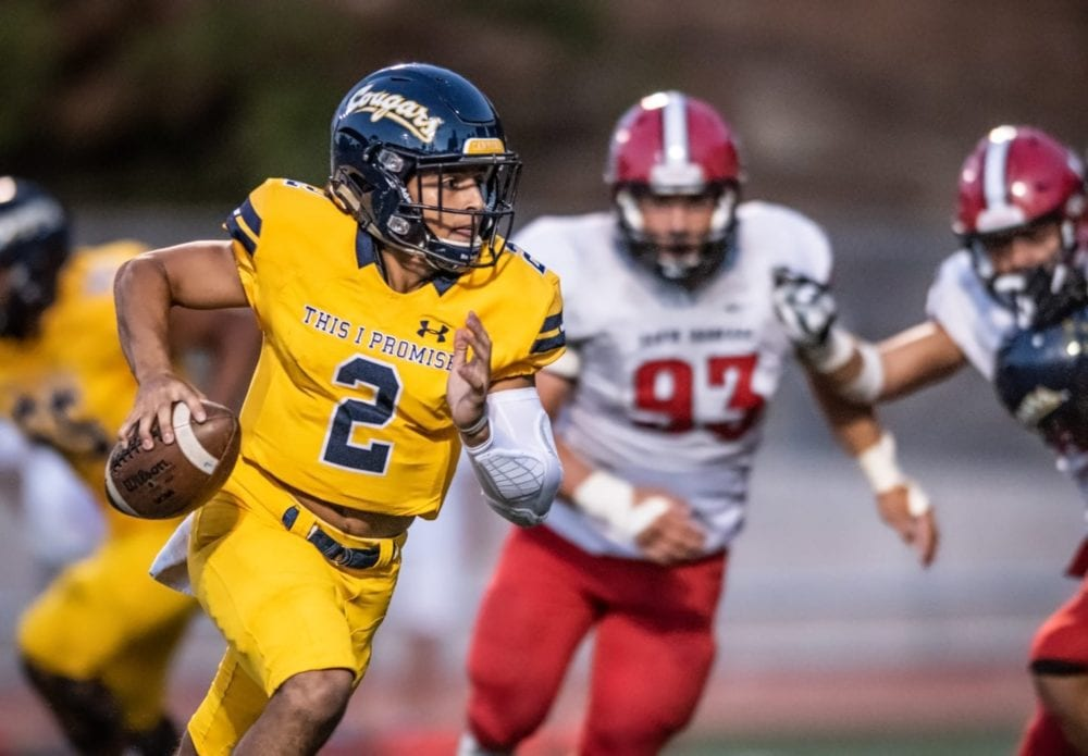 COC football shuts out Santa Barbara Community College in home opener