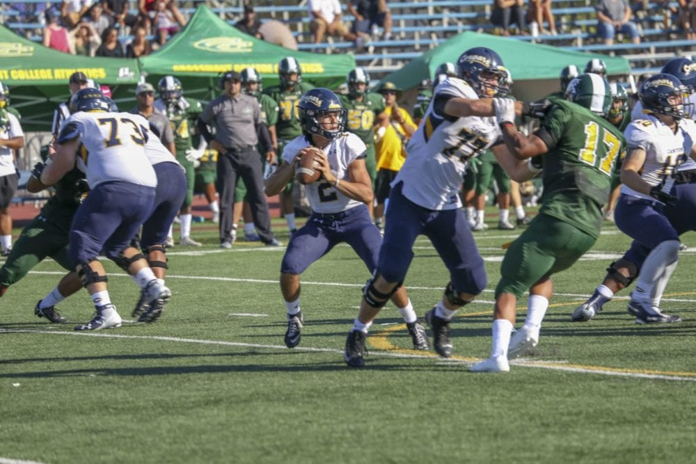 Cougars offense, defense come out firing in win over Grossmont College