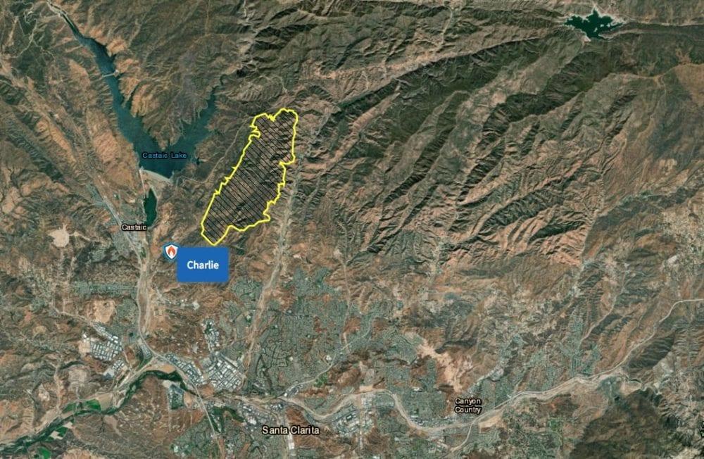 Charlie Fire Burn Map – Santa Clarita Valley Signal