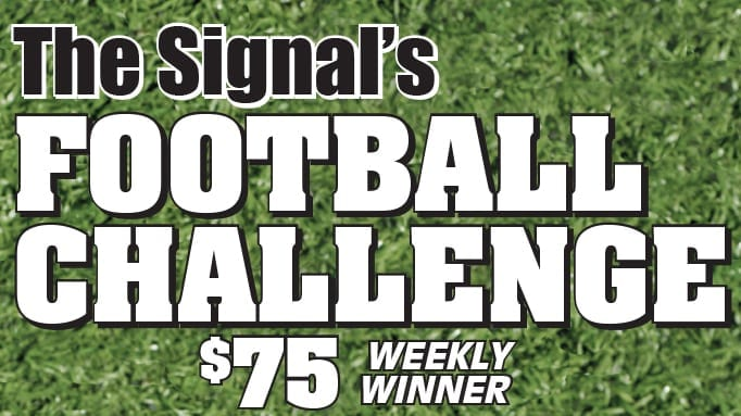 Football Challenge: Week 2 Results, Week 3 Entry Forms