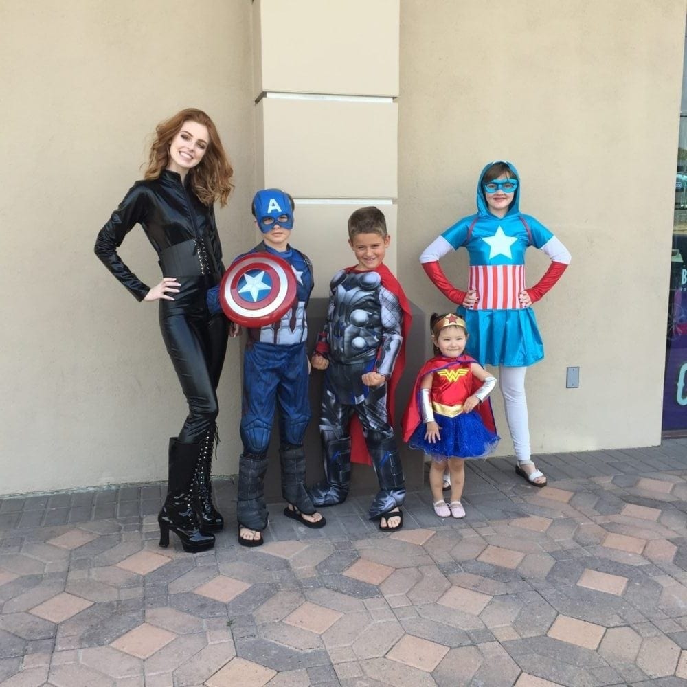 Halloween Costumes Can Be a Family Affair