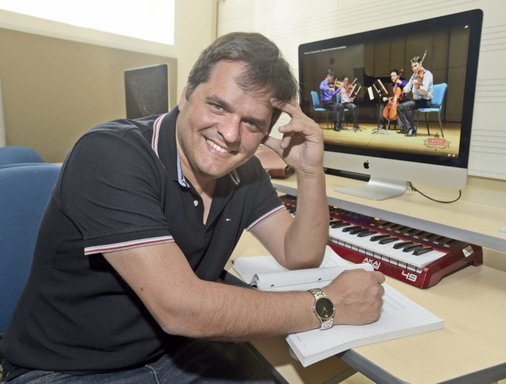 8th Grammy nomination secured by COC professor
