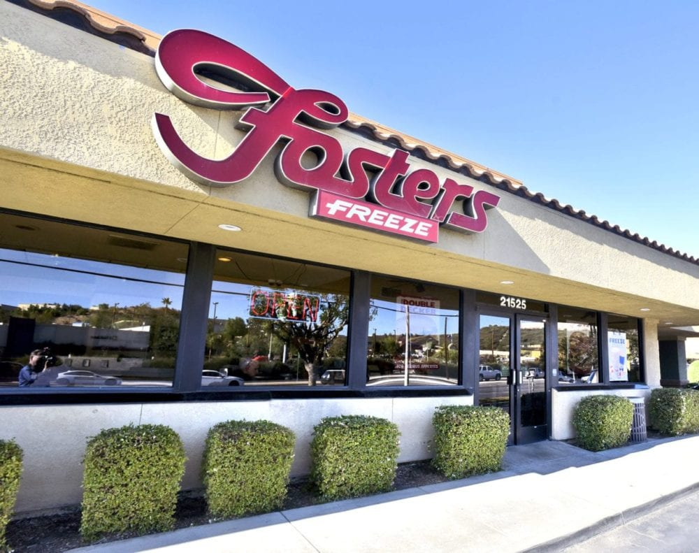 Fosters Freeze on Soledad Canyon Road in Santa Clarita.  (Photo by Dan Watson)