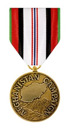 Anthony M. Miguel, Sr. Afghanistan Campaign Medal