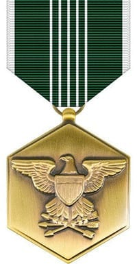 Anthony M. Miguel, Sr. Army Commendation Medal