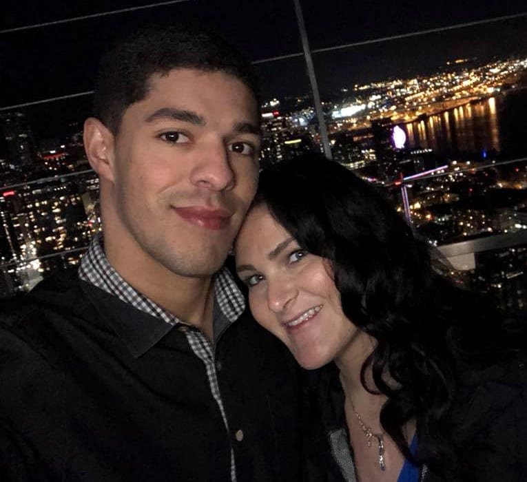 Anthony M. Miguel, Sr. & Jennifer at Seattle's Space Needle Feb 2018