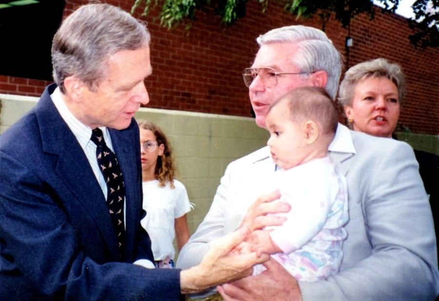 Gary J. Popejoy & Governor Wilson
