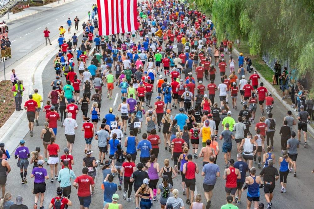 Runners take to the streets and paseos through the Santa Clarita Marathon