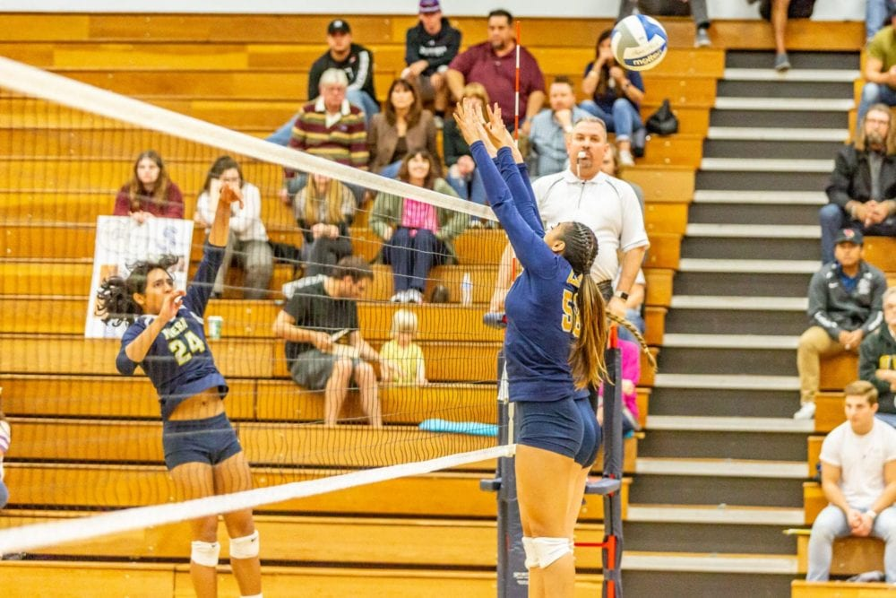 COC women's volleyball falls to San Diego Mesa College in opening playoff match
