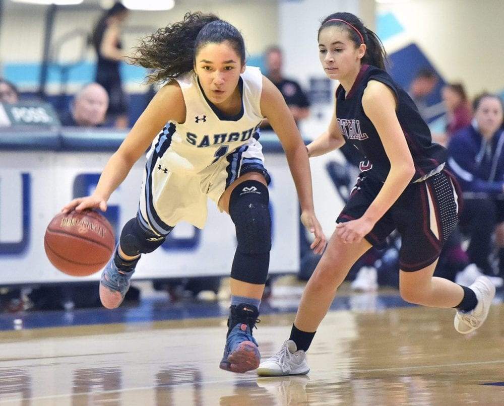 Saugus girls basketball uses defense to defeat Foothill Tech