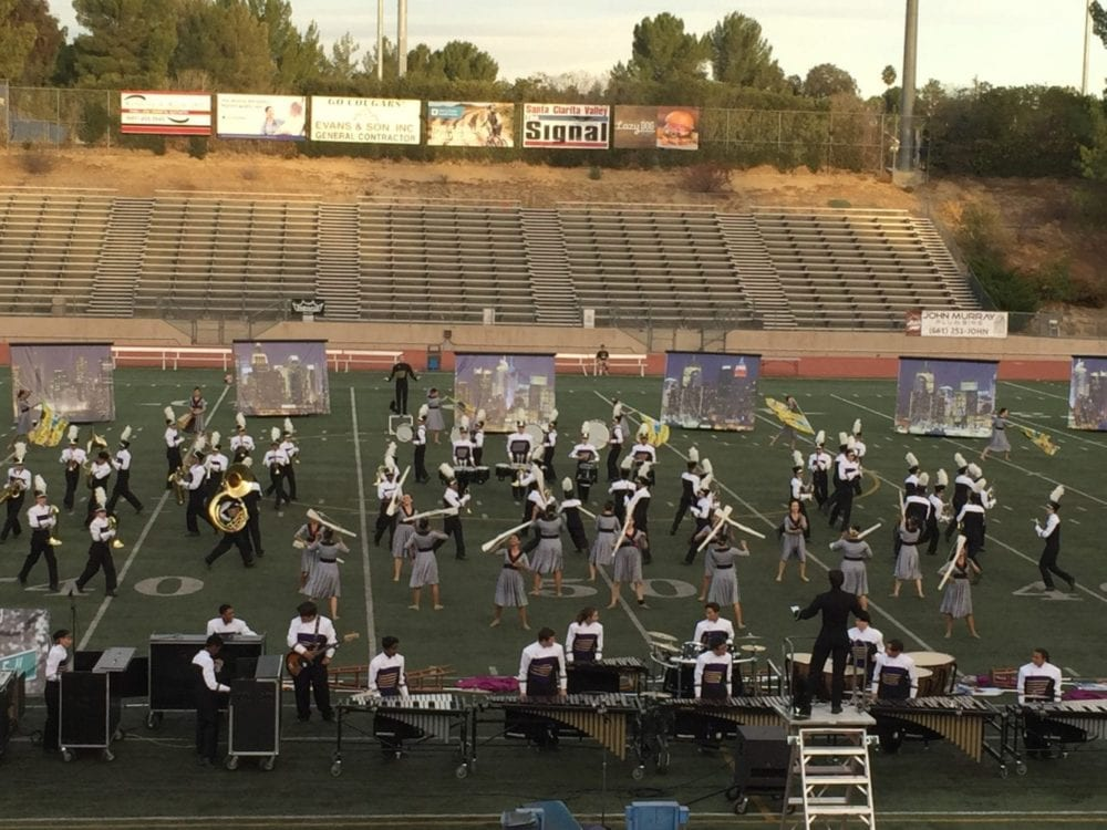 Valencia and West Ranch Take Home Wins at 35th Annual Hart Rampage Marching Band Competition