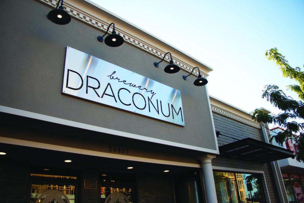 draconum slanted