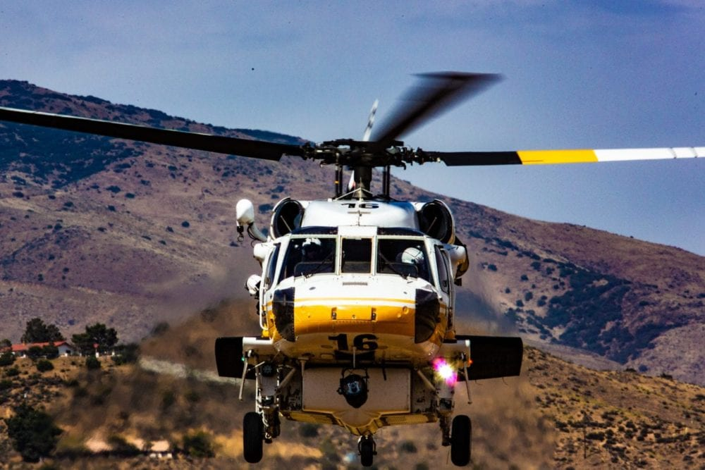 County to buy two additional firefighting Firehawk helicopters