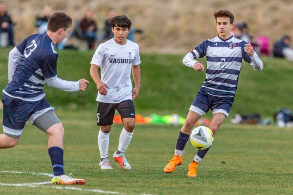 Soccer Opens Heritage League Play