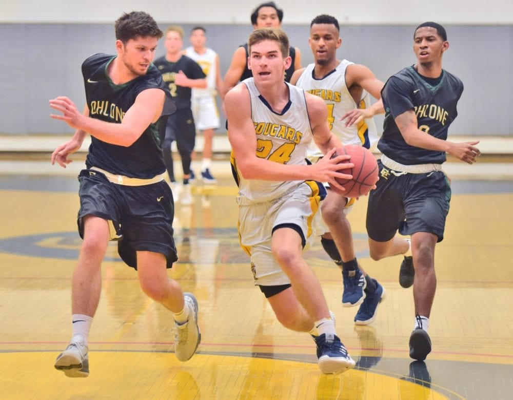 Canyons men's basketball turn things around against Ohlone College
