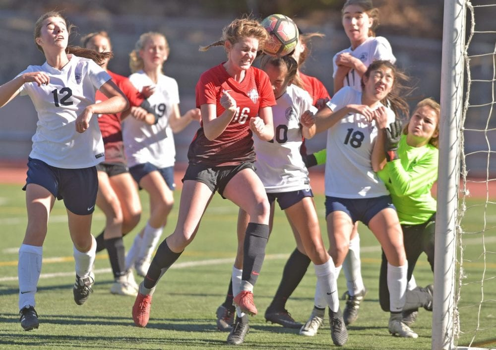 Hart's Irwin named All-Foothill League girls soccer Player of the Year