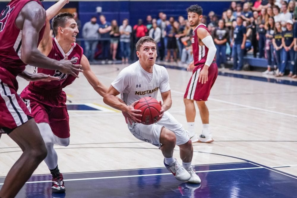 Trust, confidence key to Colombia native Hansel Atencia's success with TMU basketball