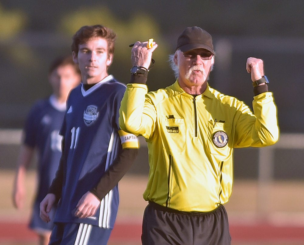 Several factors affecting soccer referee shortage