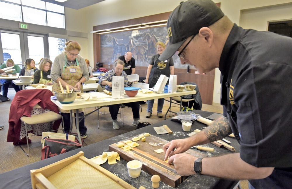 SCV residents learn to make different kinds of pasta with feedSCV