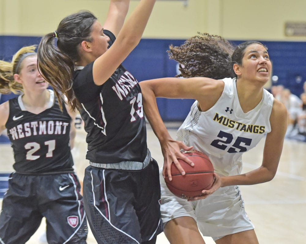 TMU women's hoops fends off late comeback to beat No. 15 Westmont