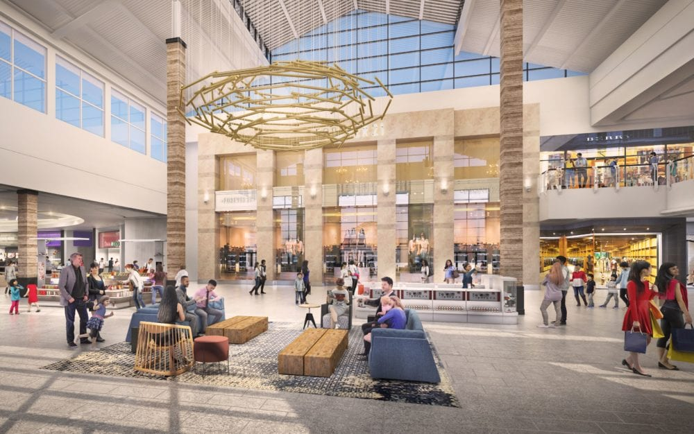 Westfield Valencia Town Center renovation kicks off February; officials release new renderings