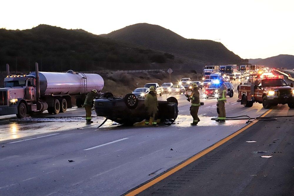 Fatal crash closes lanes on I-5 near Lebec – Santa Clarita